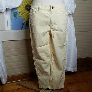 Chico's Platinum Crop Jeans